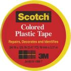 Scotch 3/4 In. Yellow Colored Plastic Tape Image 1